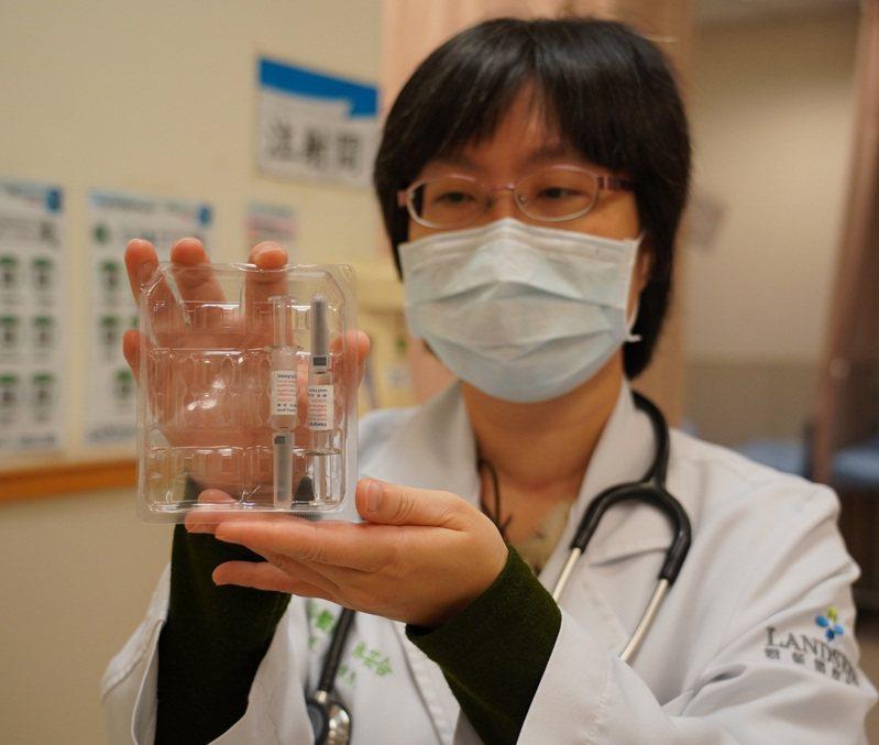 聯新國際醫院感染科主任林芸合表示,接種流感疫苗以後一樣要注意戴口罩、勤洗手。圖/聯新國際醫院提供