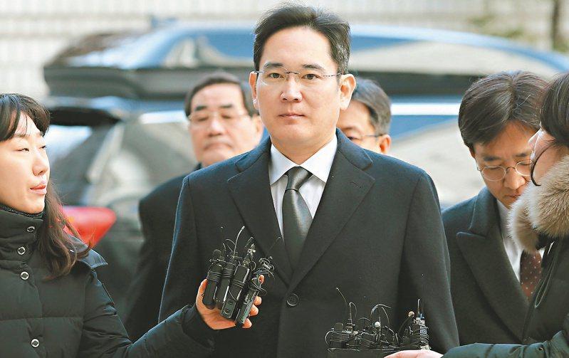 李健熙長子李在鎔是三星實質領導人。(歐新社)