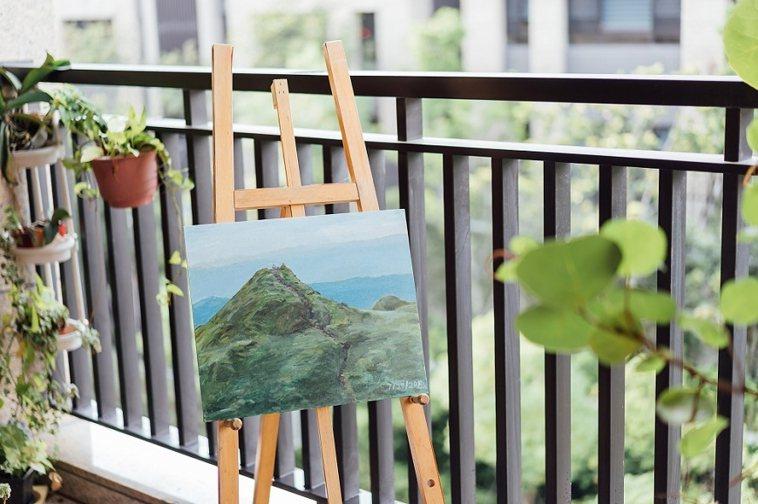 張金鶚的退休宅位在木柵半山腰,和市中心有點距離但生活機能便利,風景宜人。 圖/取...
