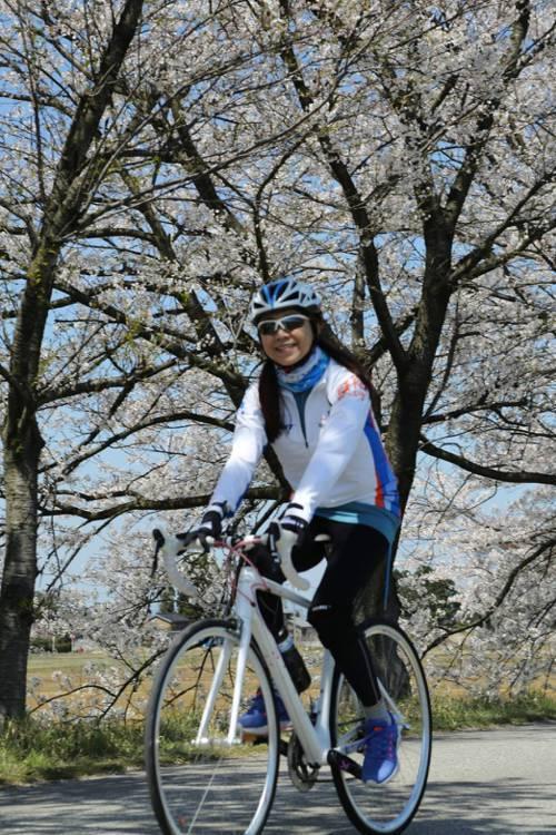 蘭萱2009年開始騎單車,至今已完成京騎滬動的壯遊。 照片提供/蘭萱
