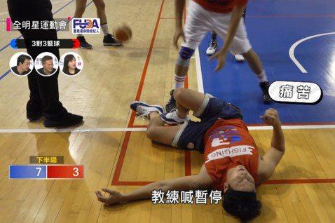小煜(楊奇煜)參加「全明星運動會」,在籃球比賽上意外受傷,造成「前十字韌帶斷裂」,讓他只能忍痛從「全明星運動會」退賽,而他也感謝大家的關心,期待能夠回歸。小煜在「3對3籃球賽」中受傷倒地,原先以為是...