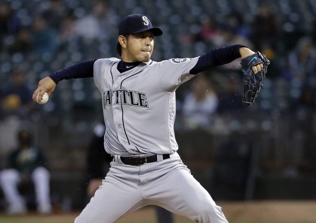 日本職棒投手岩隈久志23日宣布引退。 圖/美聯社