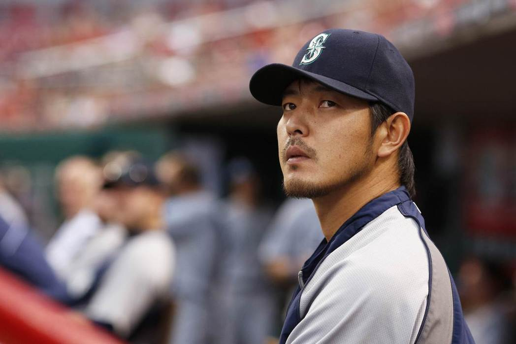 高中加入棒球隊的岩隈曾一度退隊。 圖/法新社