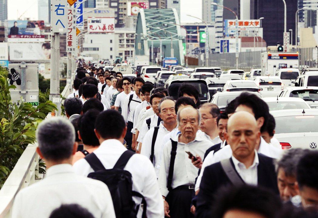 大阪府人口高達883萬人,是日本一級地方行政區當中人口數排名第3位。 圖/美聯社