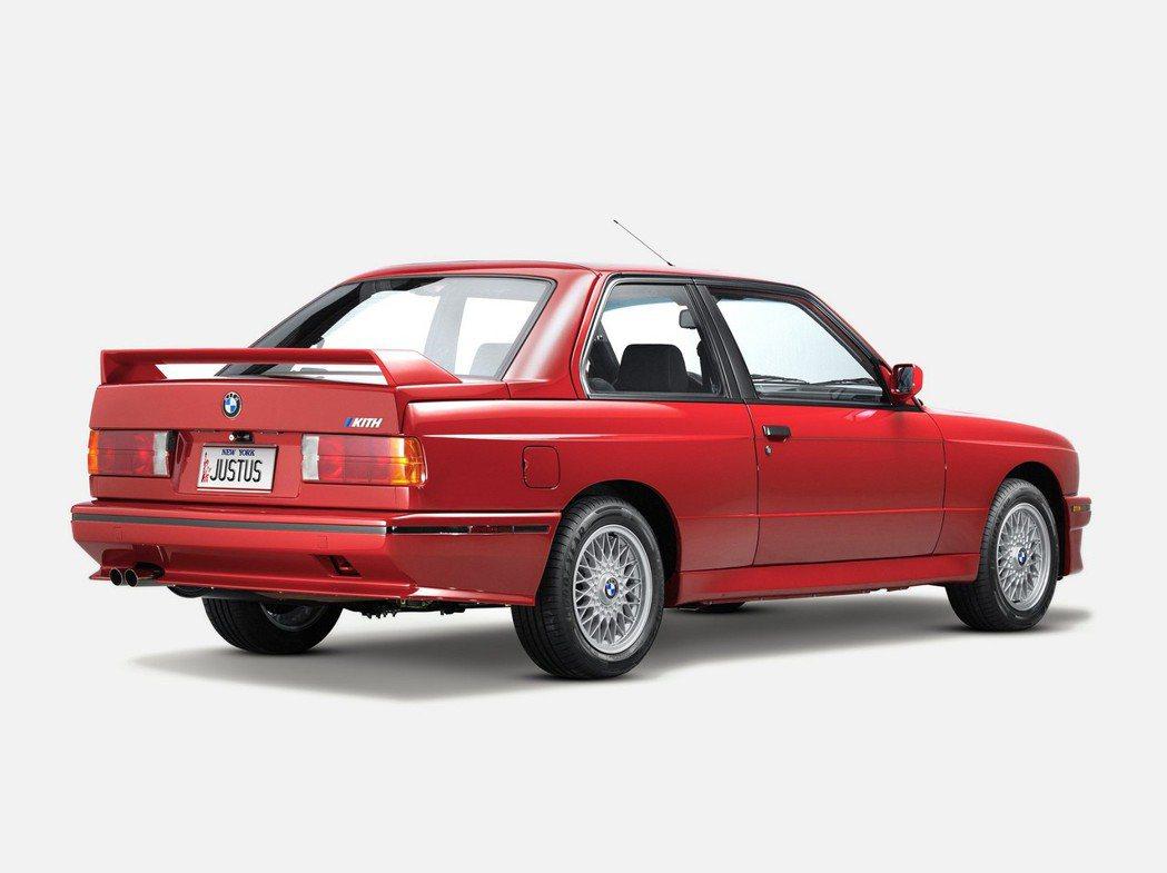 BMW E30 M3。 圖/BMW提供