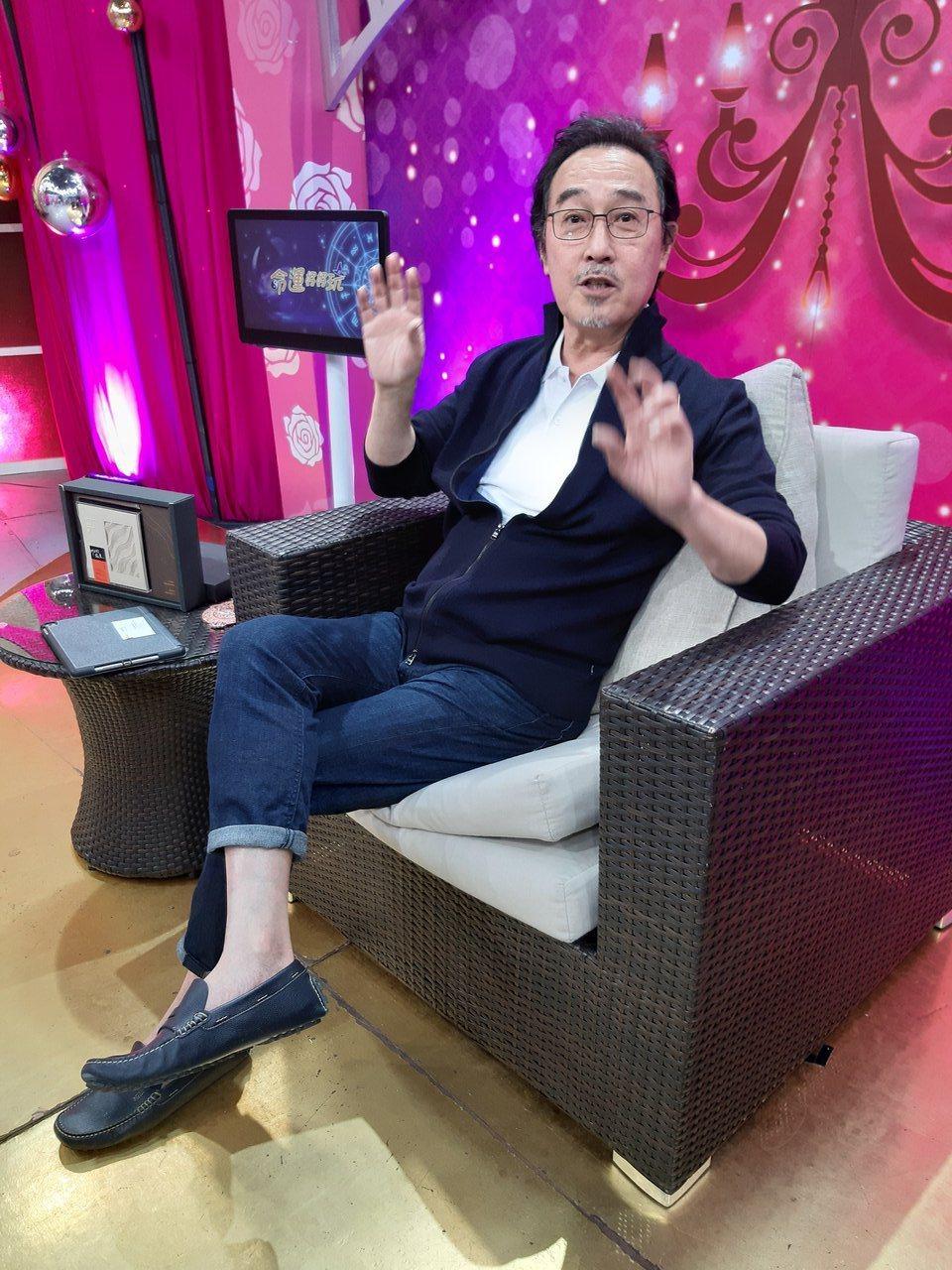 趙樹海今上JET「命運好好玩」。記者林怡秀/攝影