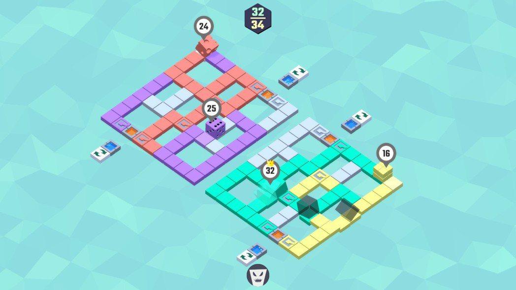 全新關卡「幽靈小徑」,玩家必須在應付對手的同時躲避幽靈方塊