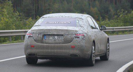 新世代Mercedes-Maybach S-Class現身歐陸山區!
