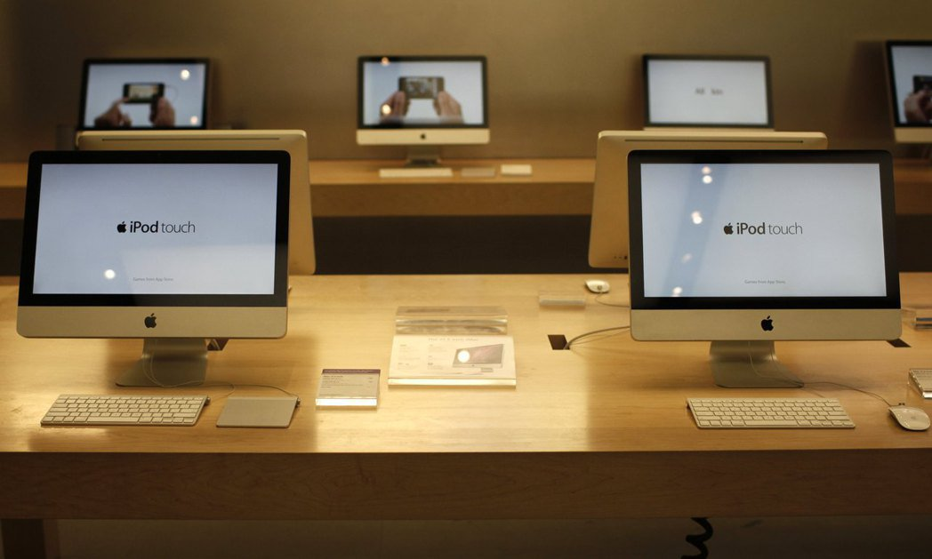 蘋果電腦。 路透