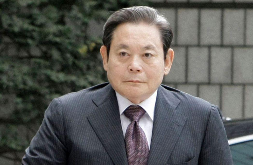 三星集團會長李健熙25日病故,享壽78歲。美聯社