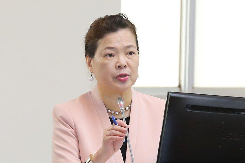 經濟部長王美花。聯合報系記者林伯東/攝影