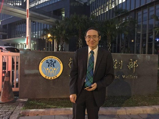 台灣長照醫學會理事長劉伯恩醫師。 台灣長照醫學會/提供