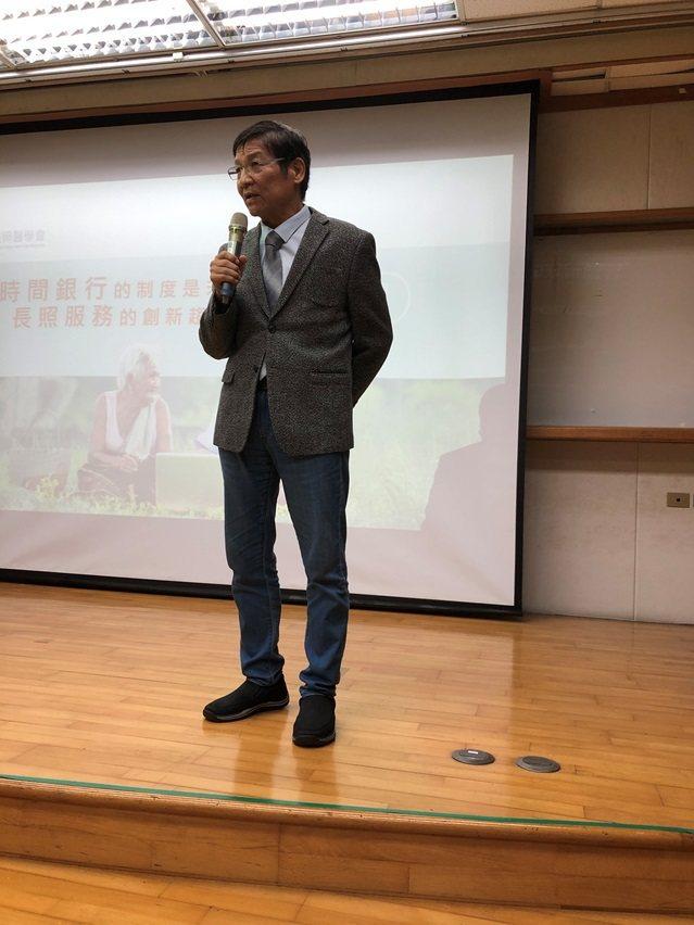 台灣長照醫學專科醫師王修平。 台灣長照醫學會/提供