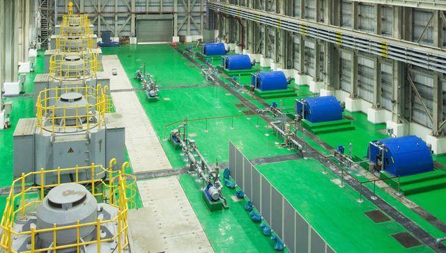 健鑫環境工程推出迴轉式攔污柵。 工業局/提供