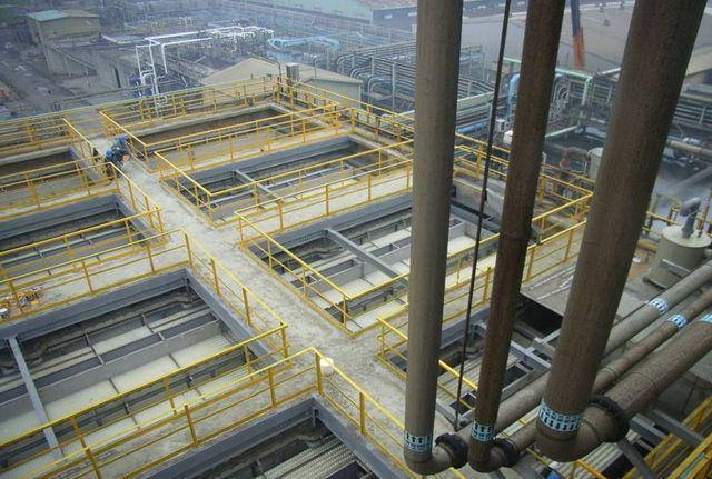 十大環保推出高效率複層式UASB厭氧反應槽。 工業局/提供