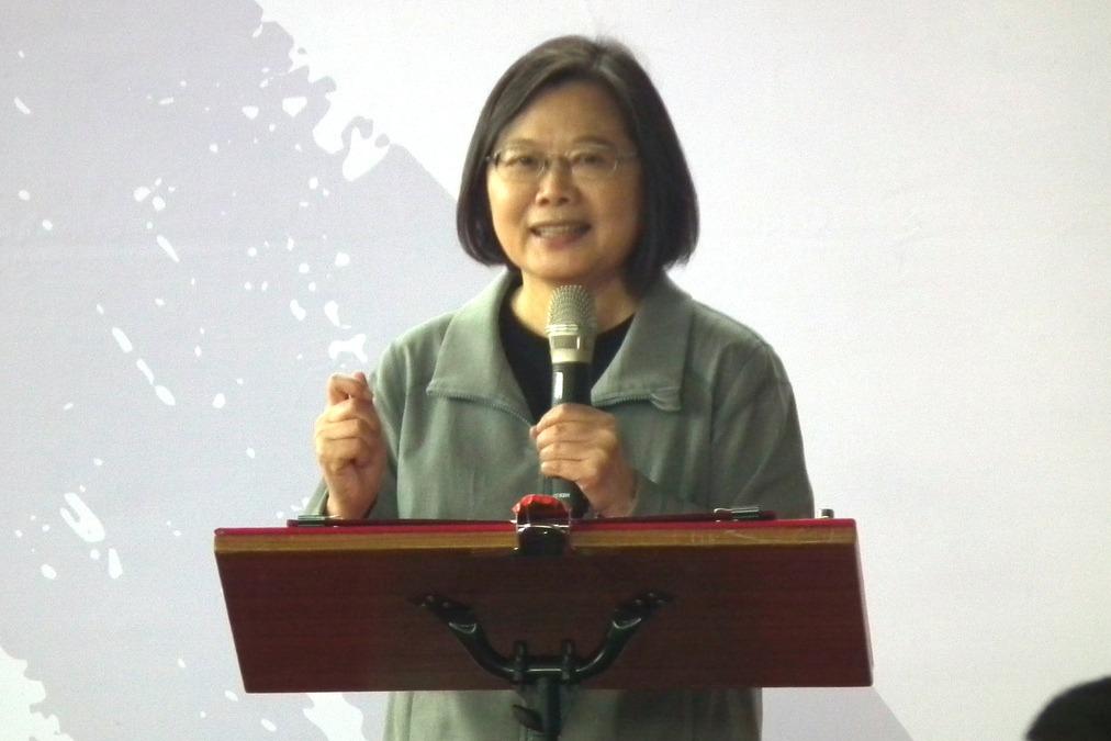 美大選 蔡總統:無論誰當選 台灣價值不變