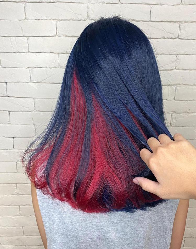 髮型創作/米蘭時尚髮型-開元二店 / 台南美髮設計師可欣,圖/StyleMap美...