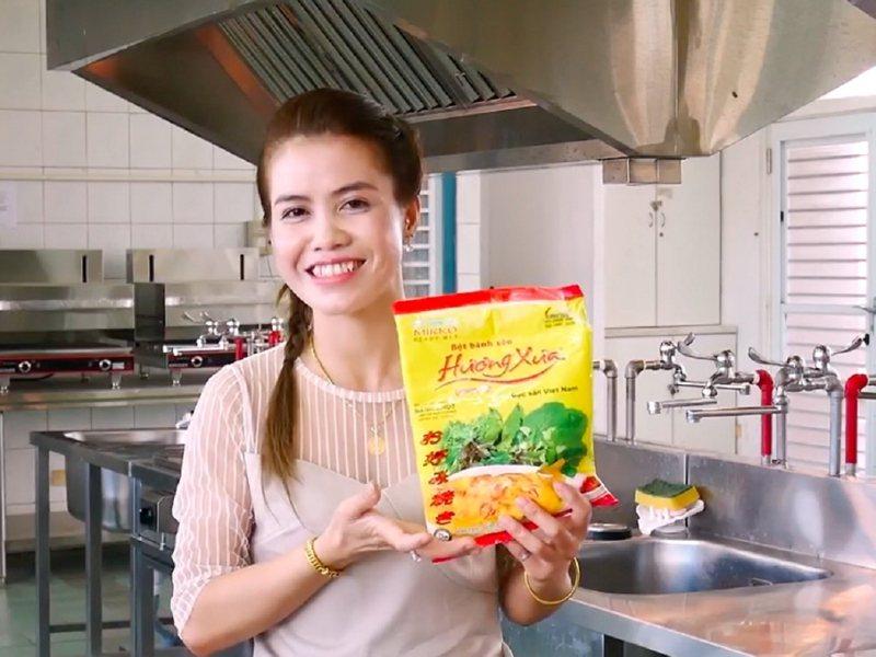金山區公所臉書官網上最近推出三支特別的影片,由新住民朋友進行家鄉菜教學,拉近台灣人與新住民朋友的距離。 圖/紅樹林有線電視提供