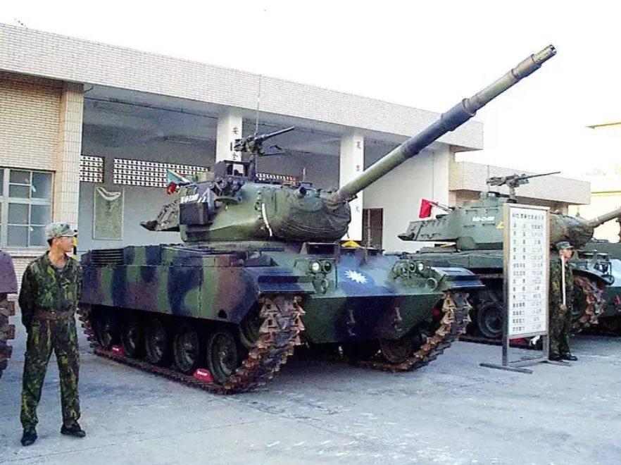 經層峰拍板,陸軍烈嶼守備大隊M41A3戰車連將全面汰除裝備,由軍備局209廠檢整...