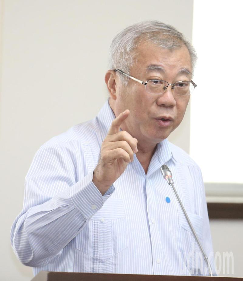 農委會前主委陳保基。報系資料照片/記者黃義書攝影