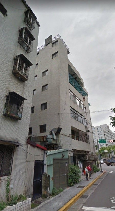 老舊建物增設電梯後案例。圖/北市都更處提供