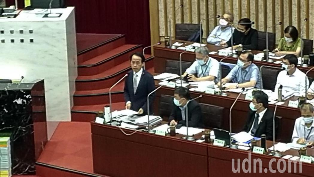 高雄市都委會主委、副市長林欽榮。記者蔡孟妤/攝影