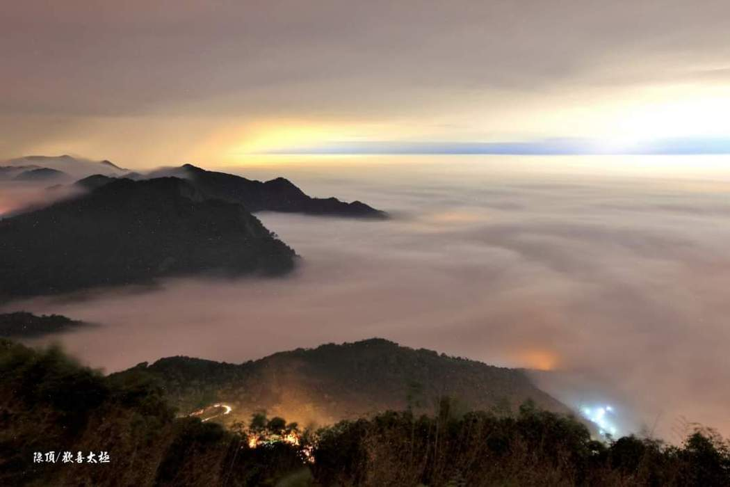 現在到阿里山區可以欣賞到壯闊雲海美景。圖/王輝松提供