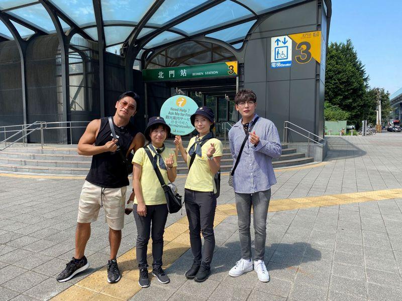 走動式旅遊服務是在台北市旅遊的好夥伴。 圖/北市觀光傳播提供