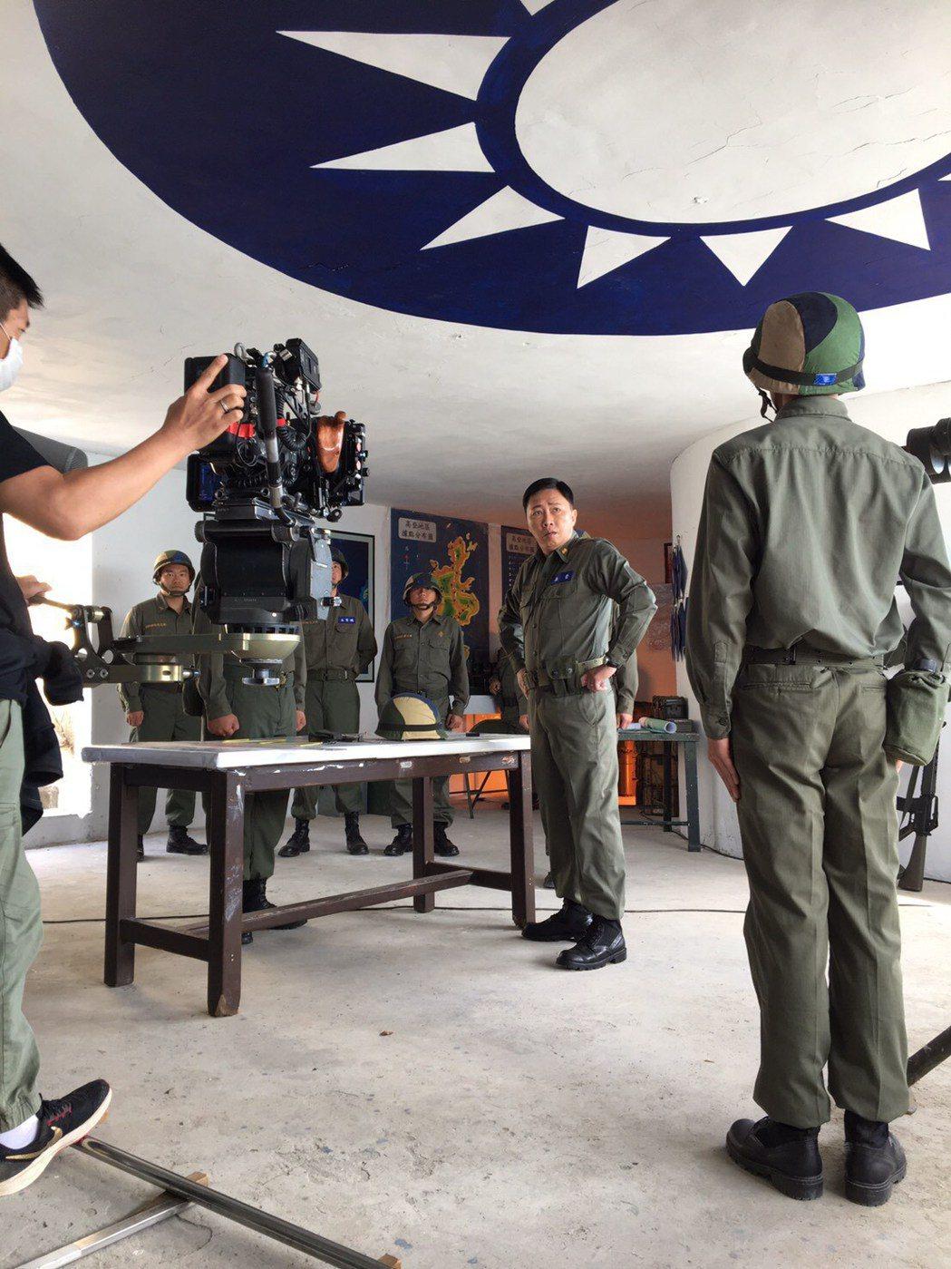趙正平加入「國際橋牌社」第二季拍攝。圖/劇組提供