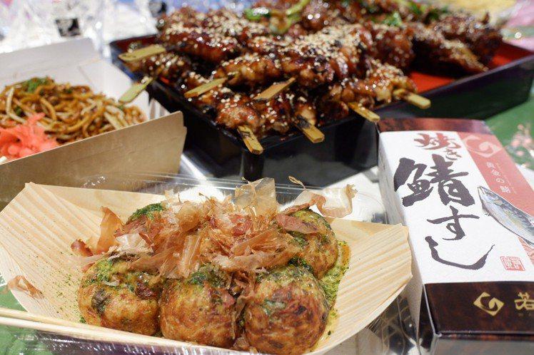 各式日本美食大集合,用吃滿足無法出國的渴望。記者江佩君/攝影