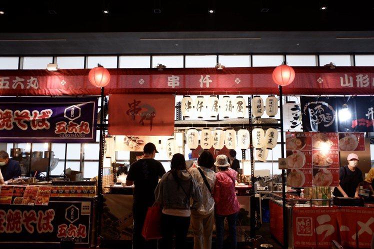 新光三越台北新天地日本展即日起至11月5日在6樓信義劇場展開。記者江佩君/攝影