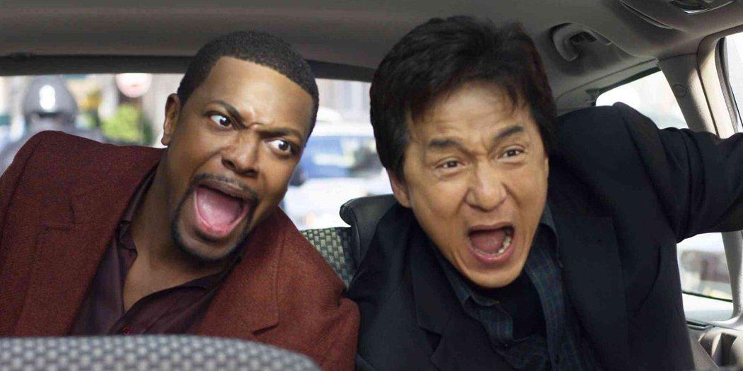 成龍與克里斯塔克主演的「尖峰時刻」系列票房熱賣。圖/摘自推特
