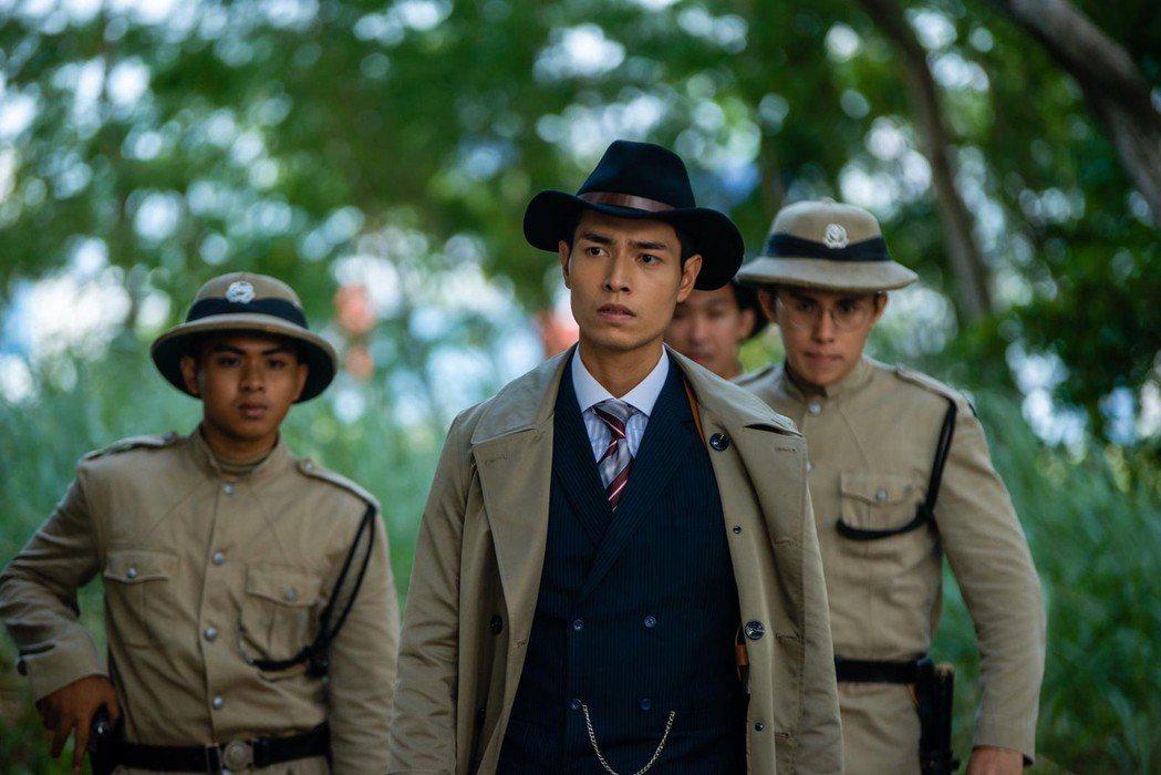 周家漢在新加坡影集「Last Madame」中飾演警官。圖/凱渥提供