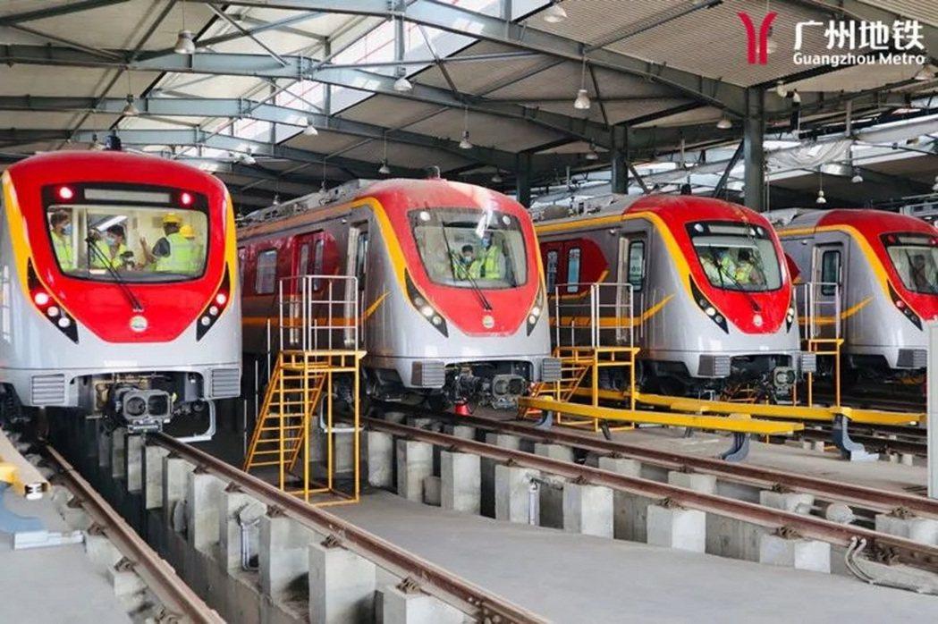 巴基斯坦拉合爾橙線採用中國列車。圖/廣州地鐵