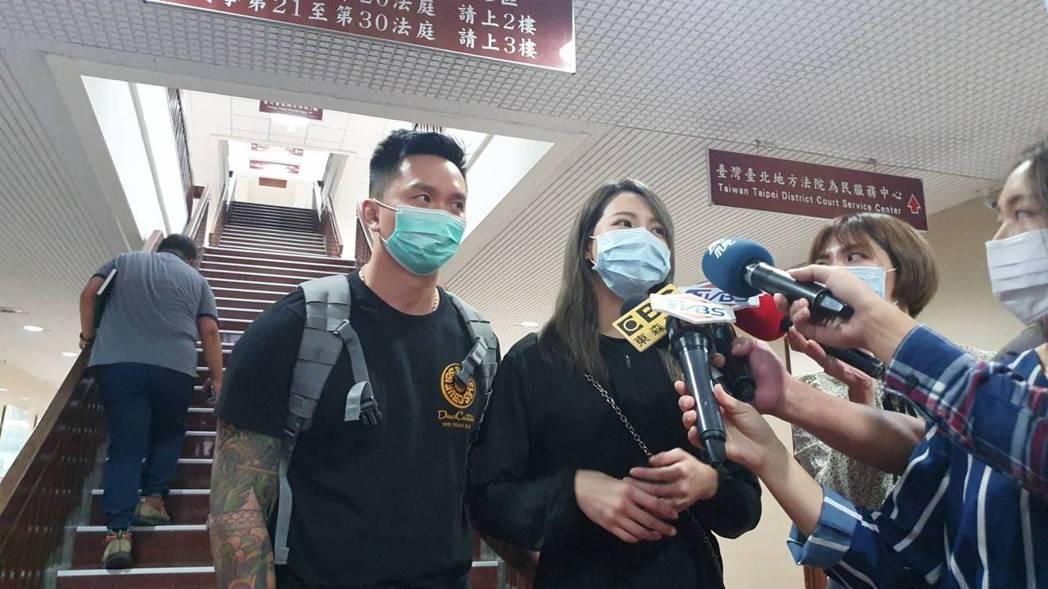 劉雨柔練拳被偷拍,她說沒必要與裝針孔的人和解。記者王聖藜/攝影