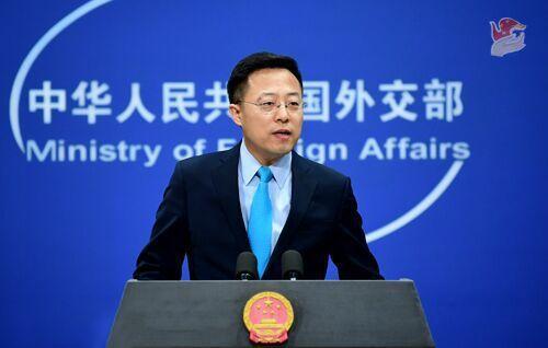 中國大陸外交部發言人趙立堅。(環球網)