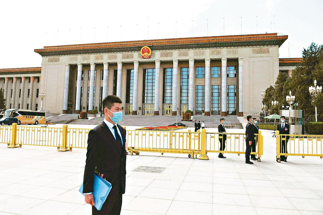 中共19屆五中全會登場,將審議通過十四五規劃。圖為北京人民大會堂。 本報系資料庫