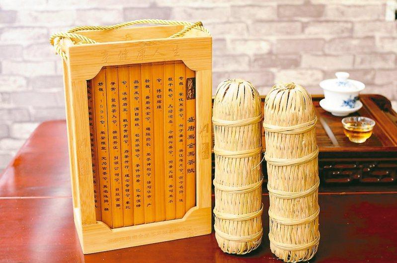 安化黑茶,香醉人間千百年。 圖/本報湖南益陽傳真