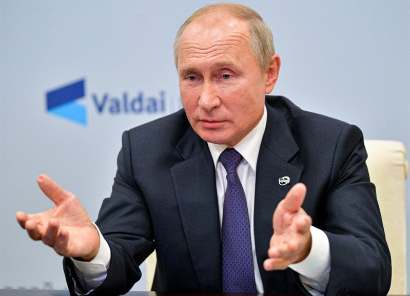 俄羅斯總統普亭。 美聯社