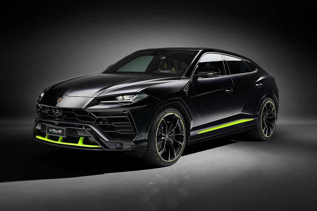 Lamborghini Urus臻選訂製系列Graphite Capsule於9...