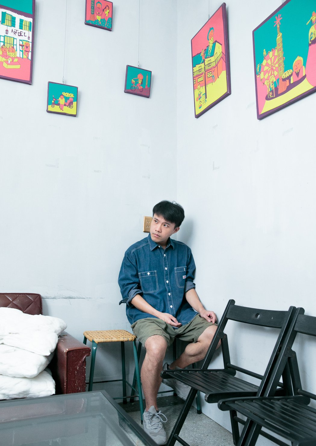 電影《刻在你心底的名字》美術指導姚國禎。 圖/曾原信攝影
