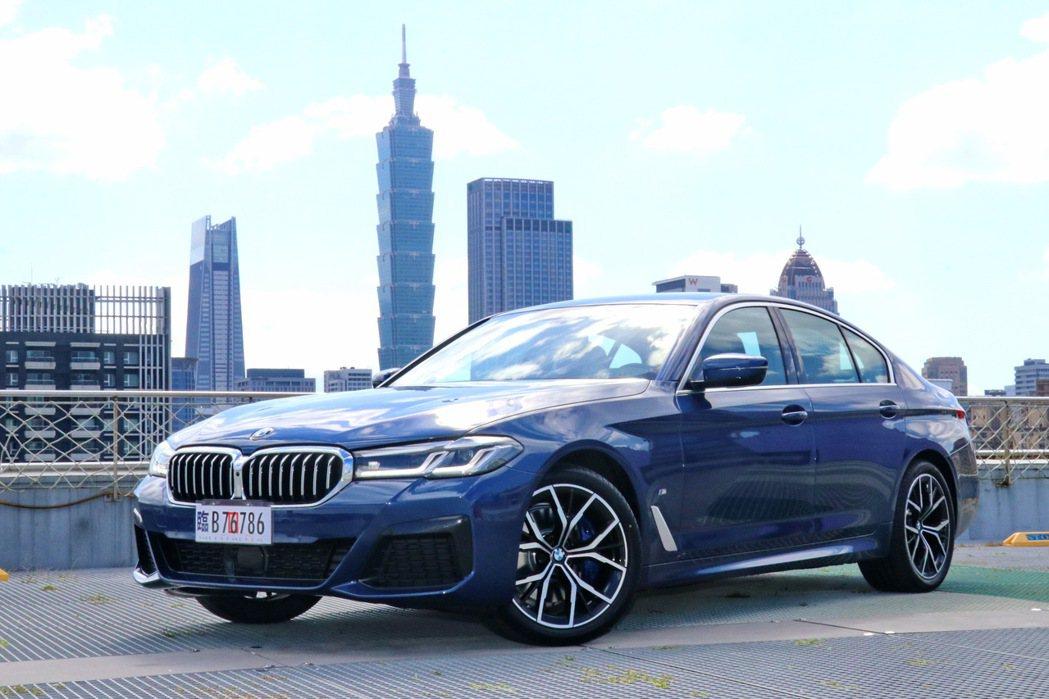 BMW 530i M Sport首發版。 記者陳威任/攝影