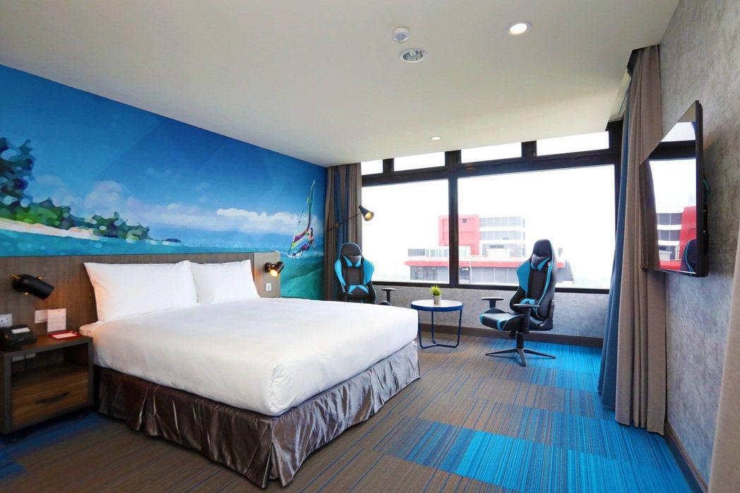 T11套房。 圖/麗寶賽車主題旅店提供