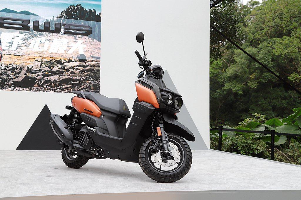 Yamaha BW'S搭載新世代BLUE CORE水冷引擎,在動力表現上亦有提升...