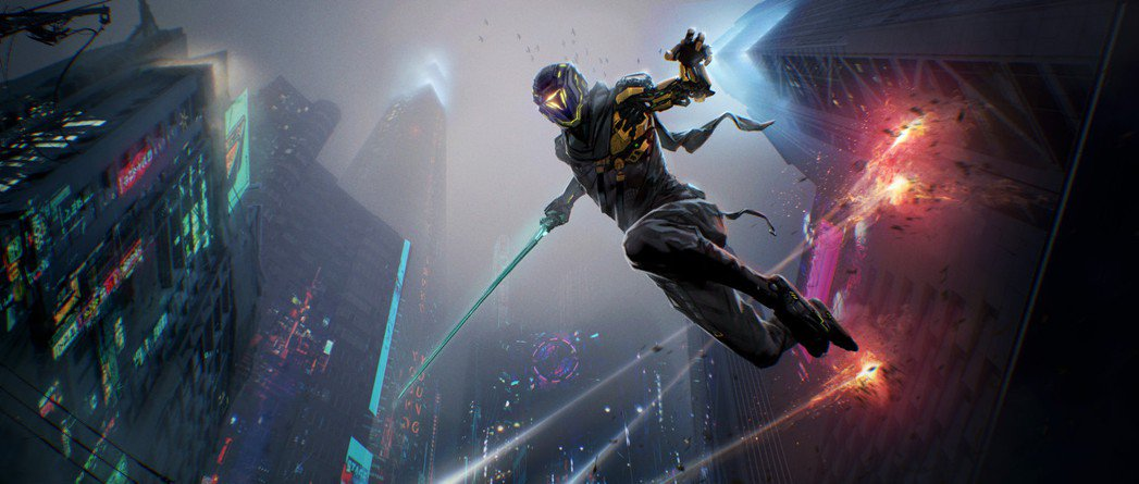 單是能操控帥氣的高科技忍者在大樓間跑跳殺敵,玩起來就非常痛快