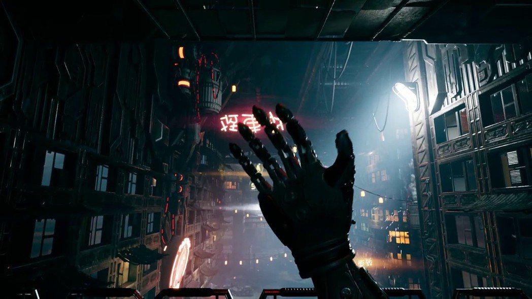 機械化的身軀,是Ghostrunner之所以能發揮超人戰力的緣由