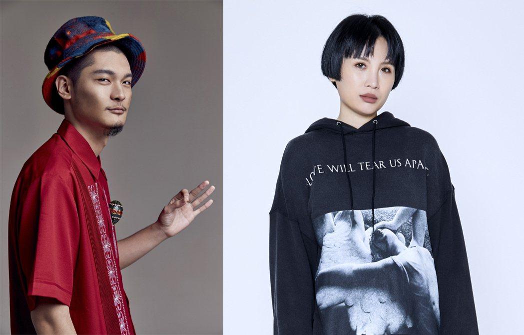 LEO王、魏如萱。圖/文化部影視及流行音樂產業局提供