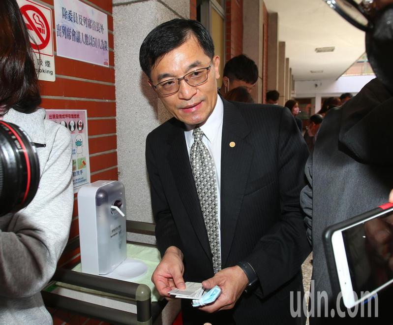 經濟部中小企業處長何晉滄。記者林澔一攝影/報系資料照