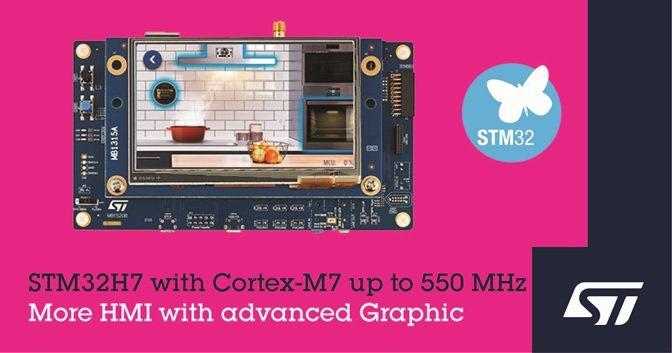 意法半導體推出新升級且更快的STM32H7微控制器,提升智慧連網產品的性能與經濟...