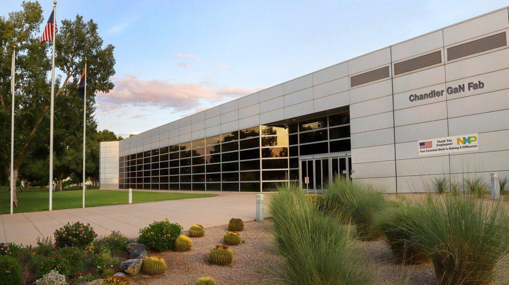恩智浦在美國亞利桑那州錢德勒的晶圓廠。 (路透)